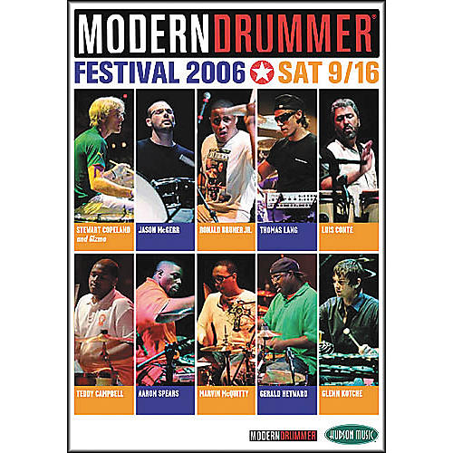 Hudson Music Modern Drummer Festival 2006 - Saturday (2-DVD Set)