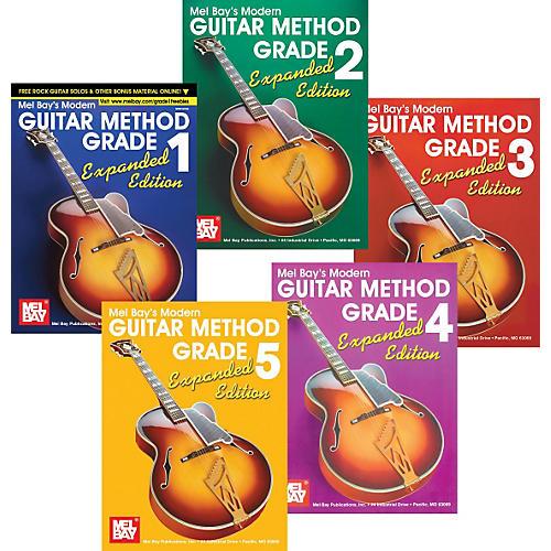 Mel Bay Modern Guitar Method Expanded Edition Grades 1-5