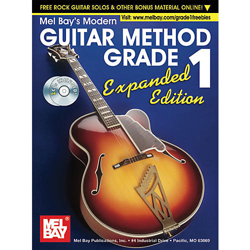 Mel Bay Modern Guitar Method Expanded Edition Vol. 1 Book/2 CD Set