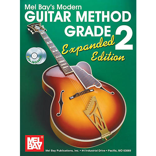 Mel Bay Modern Guitar Method Expanded Edition Vol. 2 Book/2 CD Set