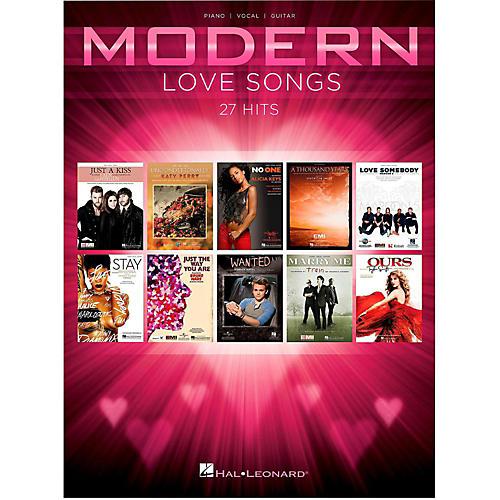 Hal Leonard Modern Love Songs for Piano/Vocal/Guitar-thumbnail