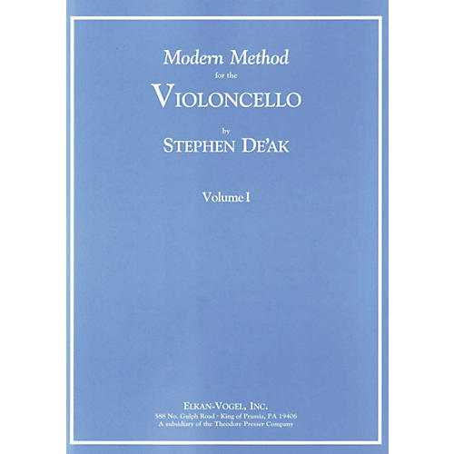 Carl Fischer Modern Method For The Violoncello-thumbnail