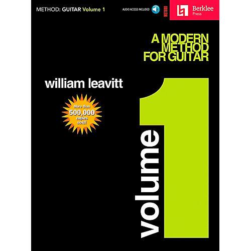 Hal Leonard Modern Method for Guitar Volume 1 (Book/CD)-thumbnail