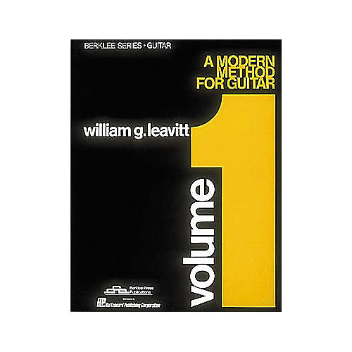 Berklee Press Modern Method for Guitar Volume 1