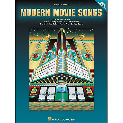 Hal Leonard Modern Movie Songs - 2nd Edition for Big Note Piano