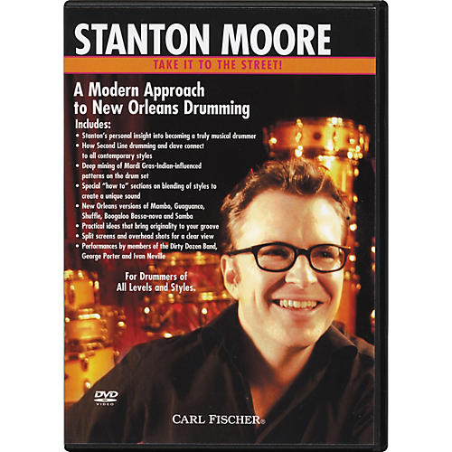 Carl Fischer Modern New Orleans Drumming with Stanton Moore (DVD)-thumbnail