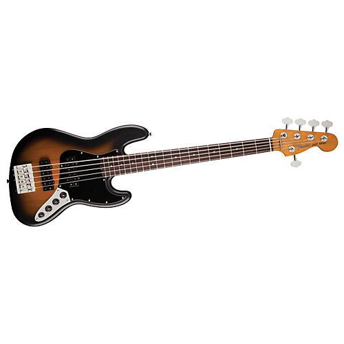 Fender Modern Player Jazz Bass V Satin 2-Color Sunburst Rosewood Fingerboard