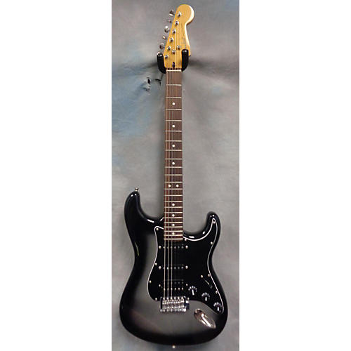 Fender Modern Player Stratocaster HSS Silverburst Solid Body Electric Guitar-thumbnail