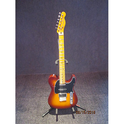 Fender Modern Player Telecaster Plus 2 Tone Sunburst Solid Body Electric Guitar-thumbnail