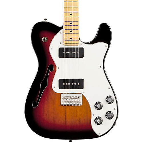 Fender Modern Player Telecaster Thinline Deluxe Electric Guitar-thumbnail