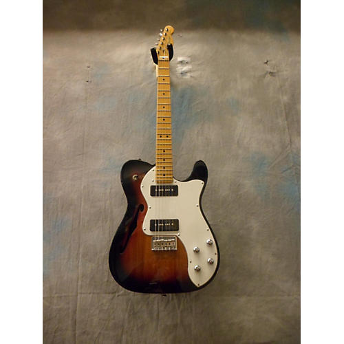 Fender Modern Player Telecaster Thinline Deluxe Solid Body Electric Guitar-thumbnail