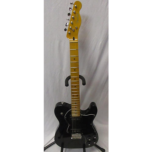 used fender modern player telecaster thinline deluxe solid electric guitar transparent