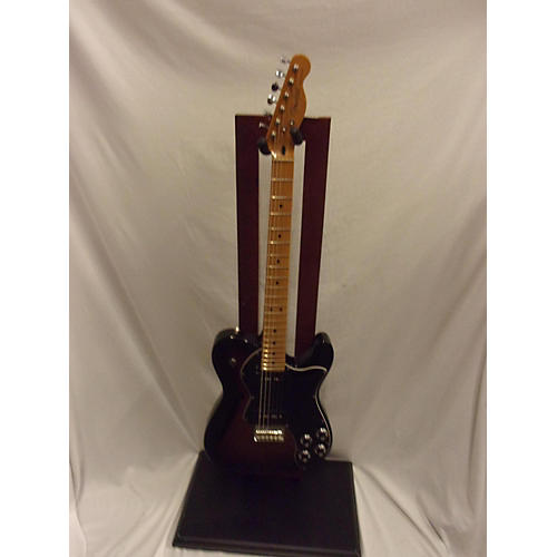 used fender modern player telecaster thinline deluxe solid electric guitar 3 tone sunburst