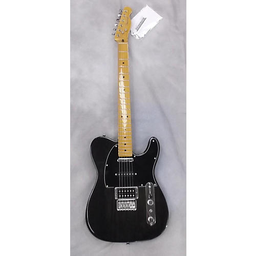 Fender Modern Player Telecaster Trans Black Solid Body Electric Guitar-thumbnail