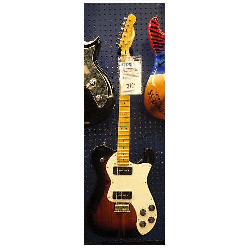 Fender Modern Player Thinline Telecaster Deluxe Hollow Body Electric Guitar-thumbnail