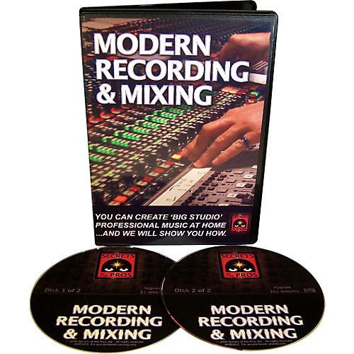 Secrets of the Pros Modern Recording & Mixing (DVD-ROM)-thumbnail