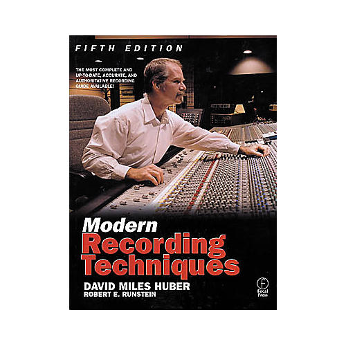 Hal Leonard Modern Recording Techniques 5th Edition Book