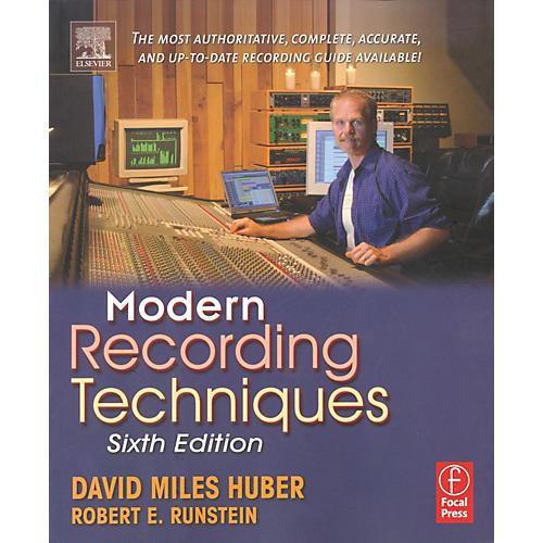 Hal Leonard Modern Recording Techniques, 6th Edition (Book)-thumbnail