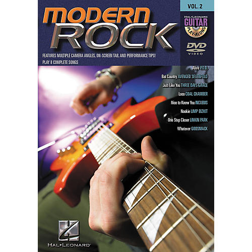 Hal Leonard Modern Rock Guitar Play-Along Series Volume 2 DVD-thumbnail