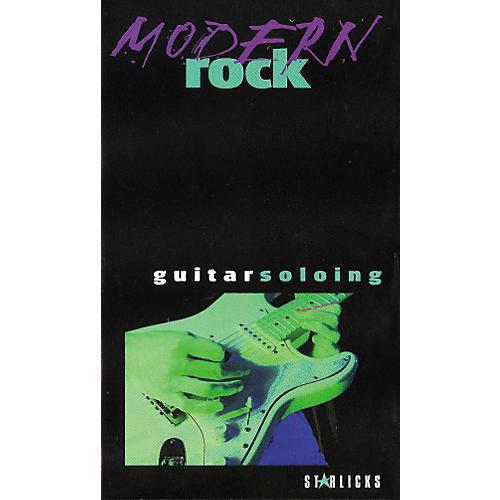 Hal Leonard Modern Rock Guitar Soloing Video
