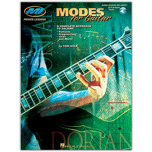 Hal Leonard Modes for Guitar (Book/Online Audio)