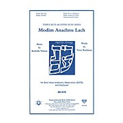 Transcontinental Music Modim Anachnu Lach SATB composed by Rachelle Nelson