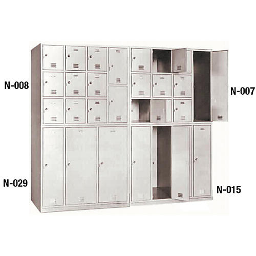 Norren Modular Instrument Cabinets in Bamboo N-004 with 9 Compartments-thumbnail