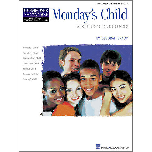 Hal Leonard Monday's Child Intermediate Piano Solos Composer Showcase Hal Leonard Student Piano Library