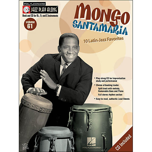 Hal Leonard Mongo Jazz Play-Along Volume 61 Book/CD