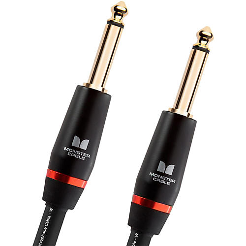 Monster Cable Monster Bass 1/4 Inch Straight to Straight Instrument Cable
