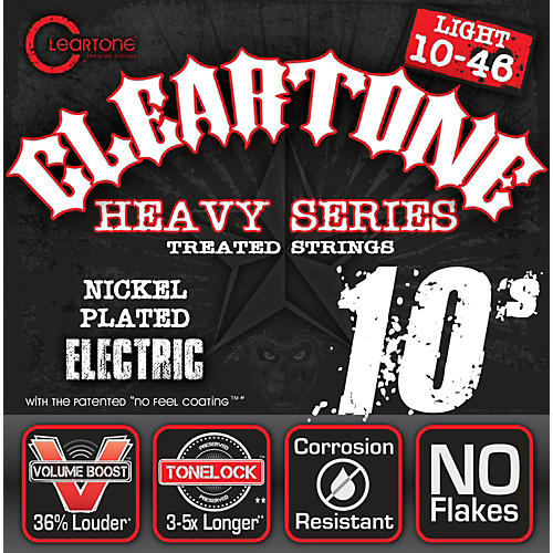 Cleartone Monster Black Series Light Electric Guitar Strings-thumbnail