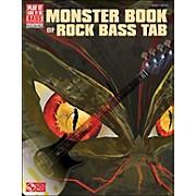 Cherry Lane Monster Book Of Rock Bass Tab