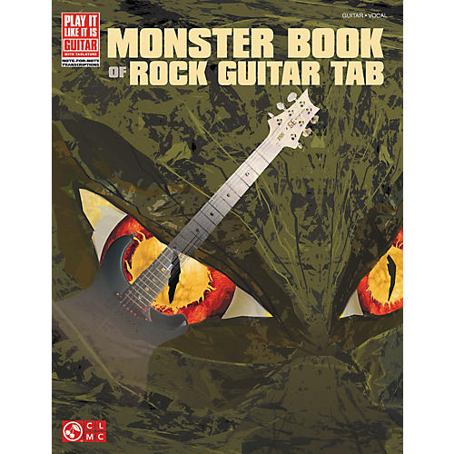 Cherry Lane Monster Book Of Rock Guitar Tab