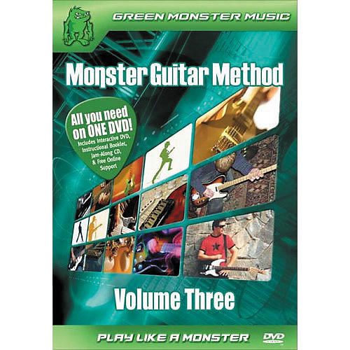 Alfred Monster Guitar Method Vol. 3 Dvd/Cd Set