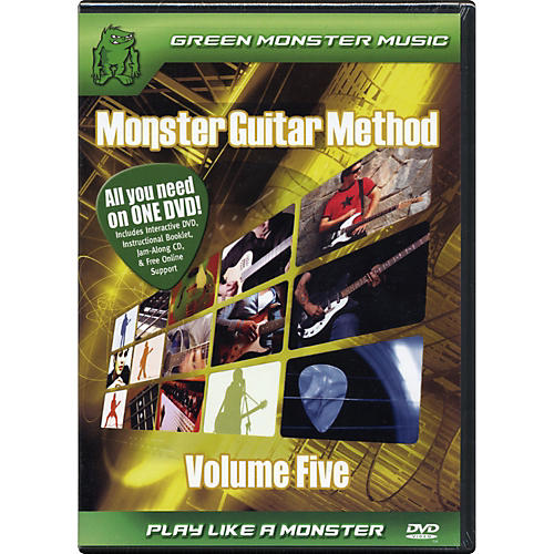 Alfred Monster Guitar Method Vol. 5 Dvd/Cd Set-thumbnail