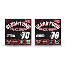 Cleartone Monster Heavy Series Drop C Nickel-Plated Strings (2-Pack)