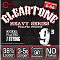 Cleartone Monster Heavy Series Nickel Plated 7-String Super Light Electric Guitar Strings  Thumbnail