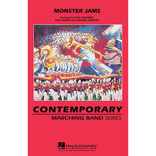 Hal Leonard Monster Jams Marching Band Level 3 Arranged by Michael Sweeney