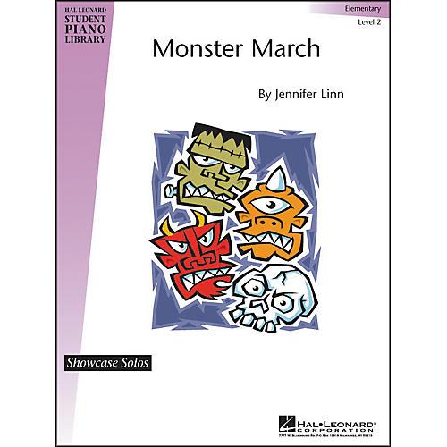 Hal Leonard Monster March Elementary Level 2 Showcase Solos Hal Leonard Student Piano Library-thumbnail