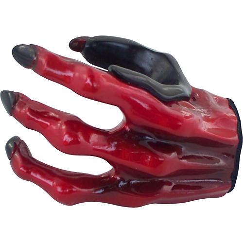 Grip Studios Monster-Red 3 Finger Custom Guitar Hanger-thumbnail