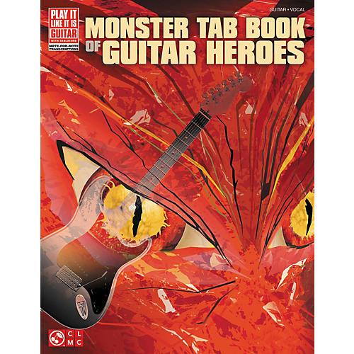 Cherry Lane Monster Tab Book Of Guitar Heroes