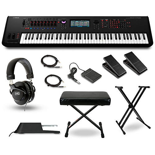 yamaha montage 7 synthesizer package guitar center. Black Bedroom Furniture Sets. Home Design Ideas