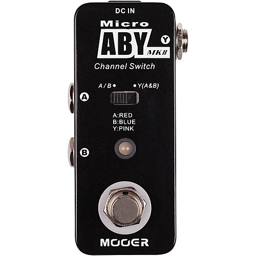 Mooer Mooer ABY MK2 Switch Effects Pedal-thumbnail