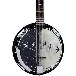 Luna Guitars Moonbird BGB 6 String Acoustic-Electric Banjo