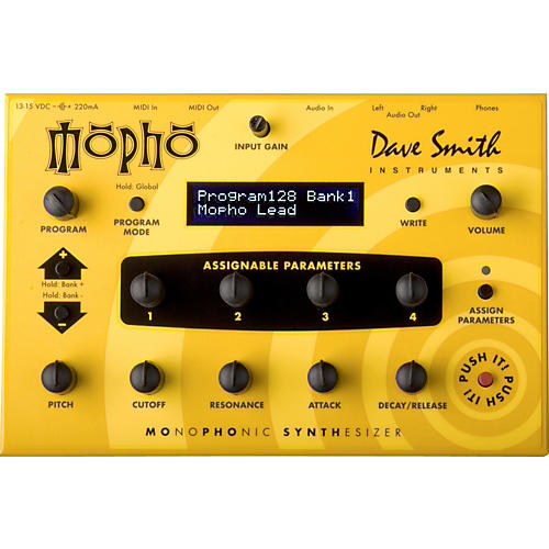 Dave Smith Instruments Mopho - Monophonic Desktop Analog Synthesizer
