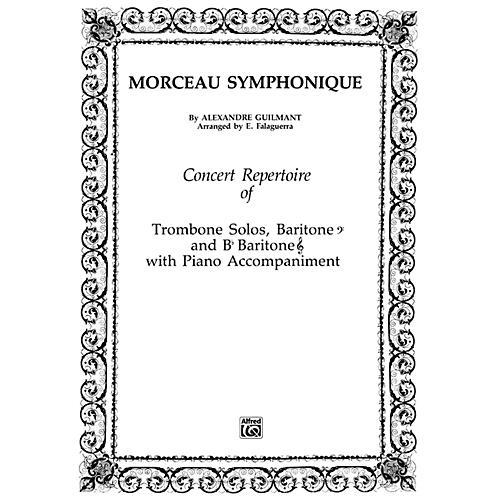 Alfred Morceau Symphonique Trombone Solo