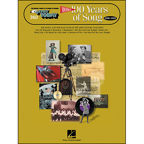 Hal Leonard More 100 Years Of Song 1900-1999 E-Z Play 360-thumbnail