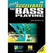 Hal Leonard More Accelerate Your Bass Playing DVD