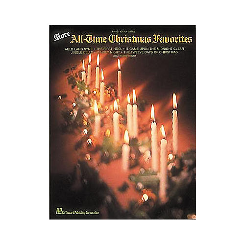 Hal Leonard More All-Time Christmas Favorites Piano, Vocal, Guitar Songbook
