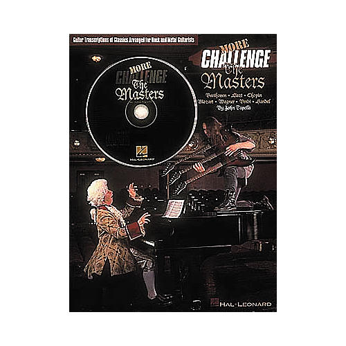 Hal Leonard More Challenge The Masters (Book and CD Package)-thumbnail